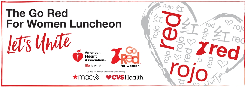 Let's Unite, The Go Red for Women Luncheon